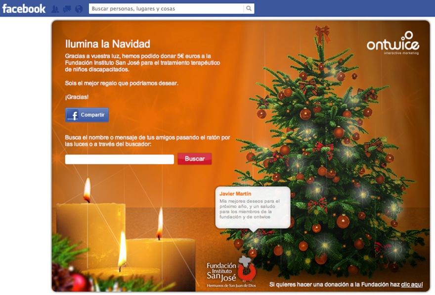 Ilumina la Navidad
